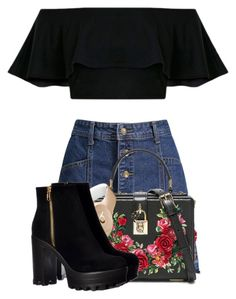 """""""Untitled #185"""" by fabulousdumpling ❤ liked on Polyvore featuring Dolce&Gabbana and Beats by Dr. Dre"""