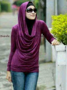 Muslim Women Fashions Hoodie Tunics For Muslim Women