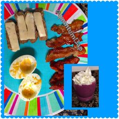 Breakfast: Boiled Egg whites with cheese, turkey sausage  links with Jalopeno  cheese and bacon w/ a blueberry  and strawberry  greek yogurt smoothie #quantuml3ap   #bacon #smoothie #boiledegg #bacon #turkeysausage #cheese #spicyfood  #lowcarb #eatclean #jerf #widn #instagood #keto #paleo #eating #hungry #foodpics #lchf #meat #meateater #lowcarbhighfat #lowcarblifestyle #cleancarbs #lowcarbrules #ketolife #atkins #instafood #cleancalories #eatcarbsforwhat  #foodjourney #foodblogger #foodie…