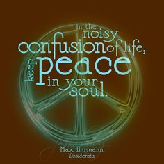 Peace in your soul