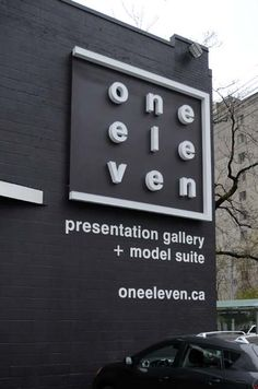 modern building signage - Google Search
