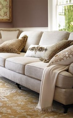 sumptuous design ideas english style sofa. Simple and relaxed Blake is designed with a traditional English roll arm We  paired this quintessential style sumptuous fabric loose seat back Frontgate Sumptuous Design Ideas Style Sofa Home Plan