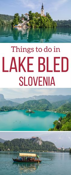 Slovenia Travel Guide - Discover all the amazing things to do in Lake Bled Slovenia - best views, Bled castle, Bled island, vintgar gorge, Lake Bohinj etc + when to visit Lake bled + where to stay. Hiking Europe, Europe Travel Tips, European Travel, Travel Guides, Travel Destinations, Oh The Places You'll Go, Places To Visit, Travel Photographie, Stuff To Do