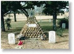 Geronimo's grave on Fort Sill, OK