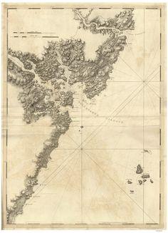 portsmouth nh piscataqua river 1779 map revolutionary war survey by british navy des
