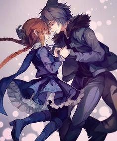 Wadanohara and the Great Blue Sea Fanart Wadanohara and Samekichi Anime Neko, Anime Guys, Manga Anime, Manga Couple, Anime Love Couple, Cute Anime Couples, Fanart, Manga Romance, Art Manga
