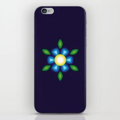 Blue Flower iPhone & iPod Skin by FishDesigns Iphone Skins, My Works, Blue Flowers, Ipod, Phone Cases, Prints, Stuff To Buy, Phone Case, Ipods