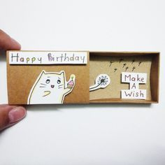 Buy 5 matchboxes, get 1 free ship worldwide from Vietnam This listing is for one matchbox. This is a great alternative to a traditional greeting card. Surprise your loved ones with a cute private...