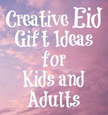 I'm not super crafty but this has some great resources for Creative Gift Ideas and Crafts for Adults and Kids for #Eid #Islam #holidays