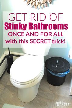 Getting Rid Of Boy Bathroom Stink Pinterest Pee Smell Homemade - How to get rid of urine smell in bathroom