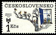 Poland, Stamps, Fiji, Children, Postage Stamps, Door Bells, Childhood, Seals, Young Children