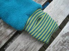 tutorial zu umklappbaren bündchen, damit die hände und füße immer warm bleiben! von klimperklein