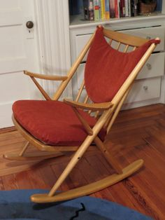 Frank Reenskaug Model 182 Rocking Chair by CATALYSTxo on Etsy