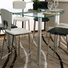 Ordinaire Sirius Triangle Counter Height Dining Table