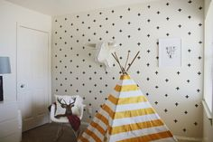 Washi Tape Wall Decals easy and inexpensive!