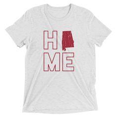 Alabama Home Triblend Short Sleeve T-Shirt