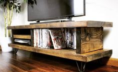 - TV Unit Models & Ideas - Rustic Blissford Widescreen Tv Unit Rustic Blissford tv unit handcrafted by dedicated craftsmen in the heart of the Few Forest. Picture represents a Dark Oak Finnish. Tv Unit Furniture, Solid Wood Furniture, Rustic Furniture, Furniture Nyc, Furniture Websites, Furniture Design, Rustic Tv Unit, Wood Tv Unit, Pine Tv Unit