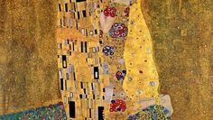 GUSTAV KLIMT THE KISS WALLPAPER - (#64678) - HD Wallpapers - [WallpapersInHQ.com]