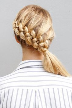 Spice up your everyday hair routine with one of these amazing braided hairstyles by Ulrika Edler, our go-to hair guru of Yet Another Beauty Site.