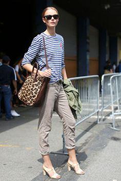 Street style stripes.