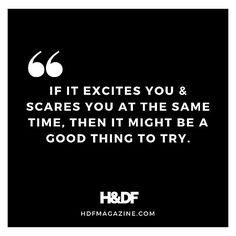 Ive been talking about this recently with some fellow entrepreneurs and would-be entrepreneurs. This quote is not just about business. Its about life. You cannot go into everything with all the answers. You just cant. What you can do is ask yourself if whether or not it both excites you and scares you. Why is this good? Well for starters because it will humble you. Youll find yourself going all in for something you believe in but you wont get ahead of yourself in your thinking. You wont play…