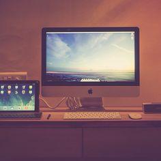#homeoffice #workspace #workplace #office #mac #magicmouse #applekeyboard #ipad
