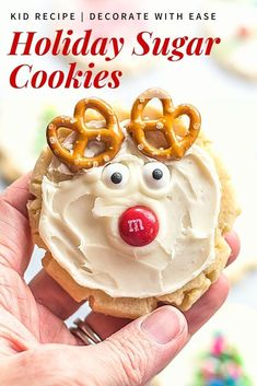 This is the perfect sugar cookie recipe for all your holiday baking. These sugar cookies are soft yet chewy and keep their shape while baking.