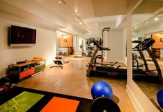 Gym Photos Basement Gym Design, Pictures, Remodel, Decor and Ideas - page 3