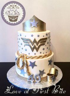 Creative Photo of Cake For Birthday Woman . Cake For Birthday Woman Wonder Woman Cake Birthday Cakes Birthday Cakes 35th Birthday Cakes, Birthday Cake For Women Simple, 40th Birthday For Women, 40th Bday Ideas, Birthday Cake For Him, 40th Cake, 40th Birthday Parties, Birthday Woman, Wonder Woman Birthday Cake