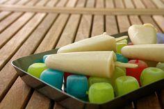 Polos vainilla Dairy, Cheese, Ethnic Recipes, Bonbon, Vanilla, Pebble Stone, Pie