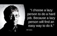 "Lavoro Palermo  #lavoropalermo #lavoro #Palermo #workisjob ""I choose a lazy person to do a hard job.because a lazy person will find an easy way to do it"" - Bill Gates-[1920x1200]"