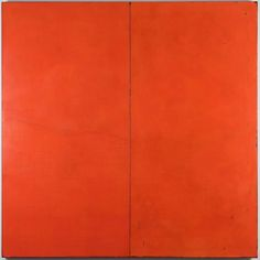 Divided Ground: Blood Orange 2016  #potd #natural #earth #pigment #gesso #pure #colours #wax #oil #painting #contemporaryart #modern #artwork #artist #artoftheday #orange #intense #susangunn