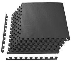 BalanceFrom Puzzle Exercise Mat with EVA Foam Interlockin...