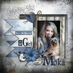 My Girl Moka - Scrapbook.com