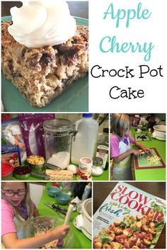 I never, not once, thought about making a cake in my slow cooker, until one day I was standing in the checkout line at Walmart, and picked up a slow cooker cookbook magazine. Crockpot Cake Recipes, Real Food Recipes, Yummy Food, Delicious Meals, Monthly Meal Planning, How To Make Cake, Cooker, Breakfast, Healthy