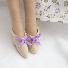 Zapatos Tilda con lazo lila
