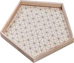 Cechy i korzyści: Pięciokątny pojemnik Trigo może funkcjonować jako tacka (w poziomie) lub jako ozdobna ramka (w pionie). Do pojemnika Trigo można dobrać kilka innych elementów: pojemnik Reja oraz ... Decor, Decorative Tray, Home Decor, Home