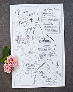 Latest Photographs Wedding Invitations Illustration Hand Drawn Illustrated Maps 54 Ideas Concepts Wedding Invitation Cards-Our Ideas Once the day of one's wedding is set and the Place is booked, j Map Wedding Invitation, Wedding Stationary, Illustrated Wedding Invitations, Classic Wedding Invitations, Party Invitations, Wedding Day Itinerary, Wedding Schedule, Wedding Decor, Rustic Wedding