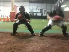 Catchers footwork drills-Pro Teach Baseball - YouTube