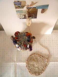 recycled household + garden fibers / Abigail Doan (December 2010)