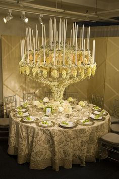 Tablescape ● Floral Centerpiece Ideas # Neutral Wedding ... Wedding ideas for brides, grooms, parents & planners ... https://itunes.apple.com/us/app/the-gold-wedding-planner/id498112599?ls=1=8 … plus how to organise an entire wedding ♥ The Gold Wedding Planner iPhone App ♥