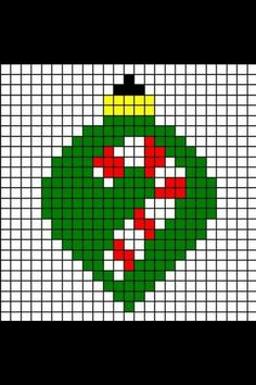 Bulb Cross Stitch Cards, Cross Stitching, Cross Stitch Embroidery, Christmas Afghan, Christmas Cross, Xmas, Pixel Art Noel, Cross Stitch Designs, Cross Stitch Patterns