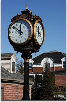 Scranton Street Clock by   Rob Gabor