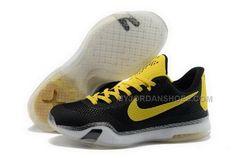 394f11de73e Buy Cheap Nike Kobe 10 2015 Black Yellow Mens Shoes