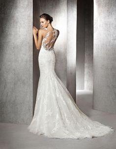 ZULIMA - Brautkleid im Meerjungfrau-Stil aus Spitze | St. Patrick