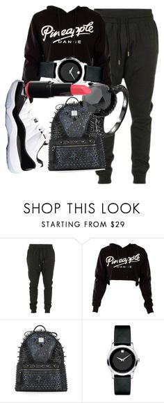 """7/9/14"" by k-tokyo ❤ liked on Polyvore featuring Blood Brother, Retrò, MCM and Movado"