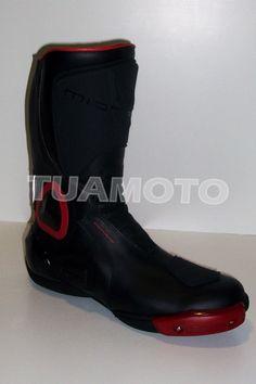 a80c0843364 Botas Para Moto Tipo Pista Motard - No Alter - Tuamoto !! -   2.250