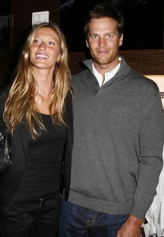 Are there two famous people who've had more of a fashion influence on each other than Gisele Bündchen and Tom Brady? See how they've transformed over the years, from the jock and the party girl to International Best-Dressed List honorees. Gisele Bündchen, Tom Brady And Gisele, Hot Couples, Famous Couples, Celebrity Couples, Power Couples, Celebrity News, Who Is Tom Brady, Tom Brady Photos