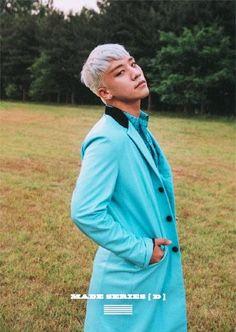 Seungri | BIGBANG - MADE SERIES 'D' oooooooh I love the White hair