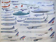 34 avions d air france 1933 1983 – PosterMuseum